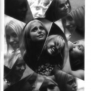 Квітка Цісик. Фотомонтаж Ярка Лозинського, 1970