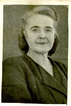 Наталія Попович перед звільненням з заслання. 1959 рік.