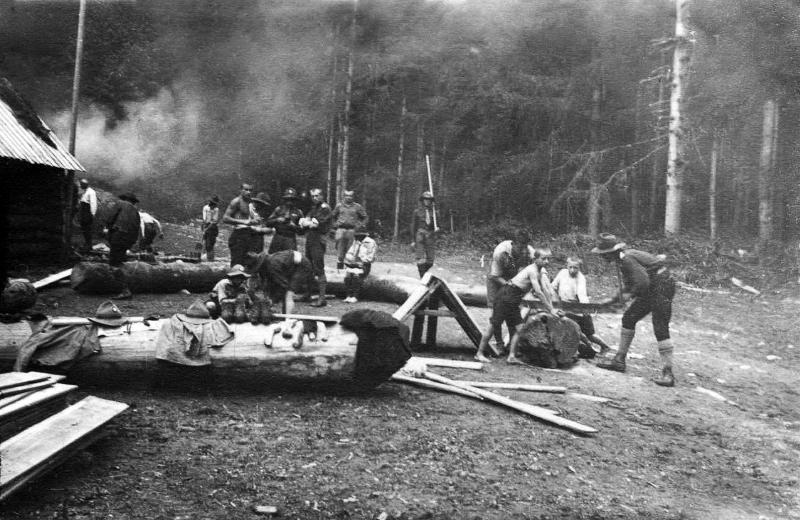 Табір на Кам'янці, 1924