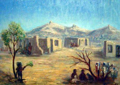В. Савчак. Село в Центральній Австралії