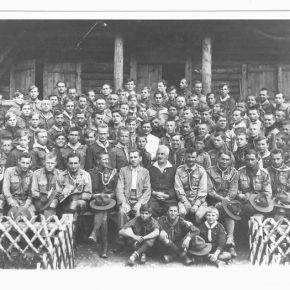 Провід табору на Соколі 1930 року
