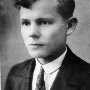 Дмитро Блажейовський — гімназист-пластун
