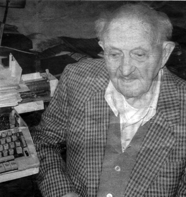 Роман Яримович, 93 роки. Фото Христини Музичук