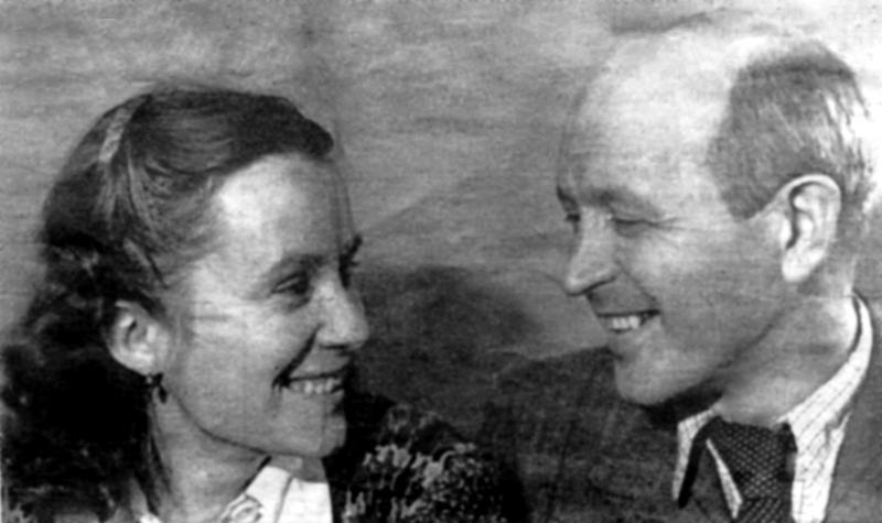 Роман Яримович з дружиною в Норильську, 1950-і рр.