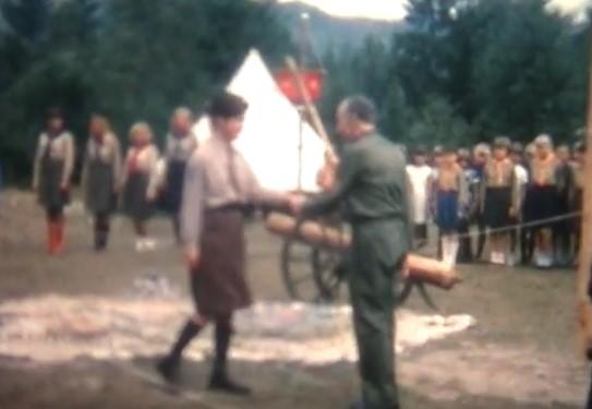 Післявоєнна кінохроніка Пласту. Відео з Олександром Тисовським