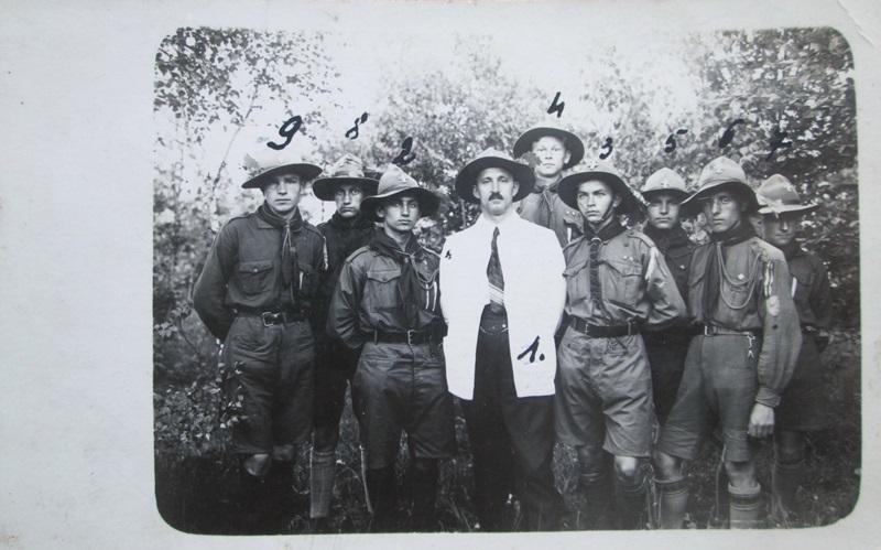 11 курінь Мазепи. Фото зі справи Майднаського ІФОА, йомвірно 1930 рік