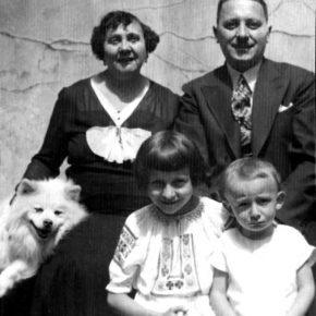 Родина Гузарів, 1935