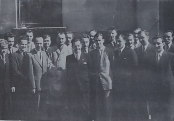Стара і Молода Калина під час Пластового З'їзду, 1950