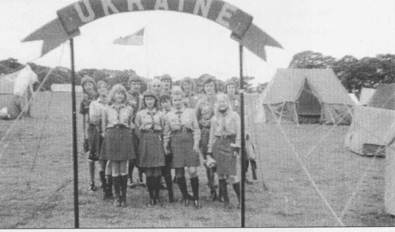 """Пластуни на міжнародному таборі """"ПІК"""" 1974"""
