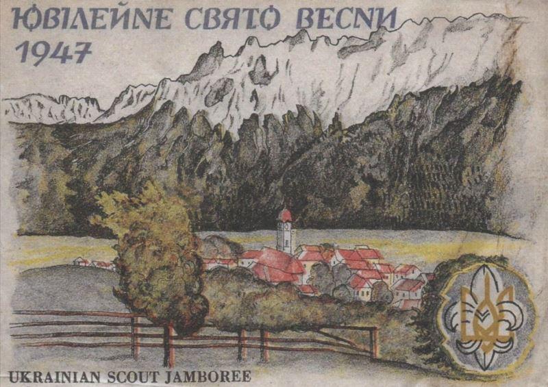 Відновлене відео зі Свята Весни в Міттенвальді, 1947