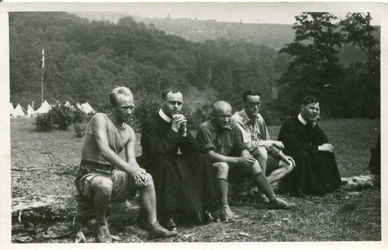 Табори в Солочині, Закарпаття, 1938, фото з архіву Б. Алиськевича