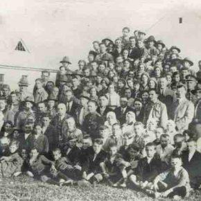 Стріча Схід карпатських пластунів, Хуст, 1933 або 1934 рік