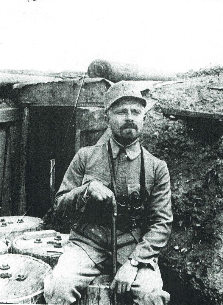 Северин Левицький в УСС