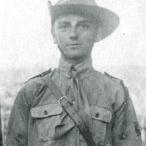 Гетьманський пластун-скоб Богдан Макарушка, 1921