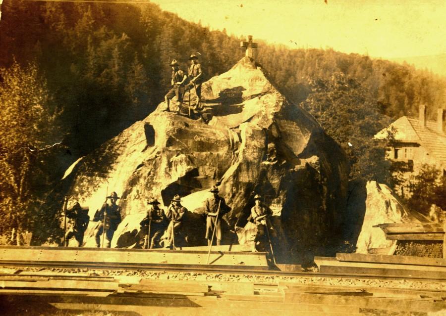 1925 рік. Калуські пластуни 35-го куреня імені Степана Тисовського в Яремчі