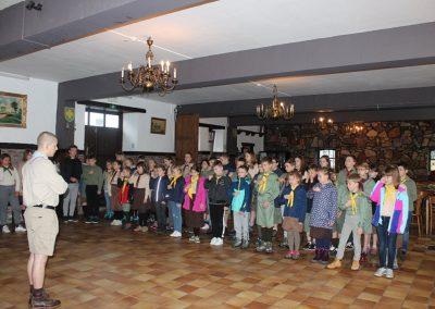 Свято Весни бельгійських та французьких пластунів на Франкополі