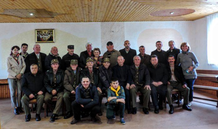 Пластуни взяли участь у вшанування пам'яті Богдана Кравціва