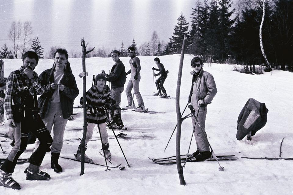 Ретро-фото з лещатарського вишколу, 1992