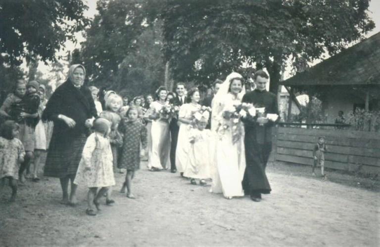 Весілля Марти і Степана, 1941 р.
