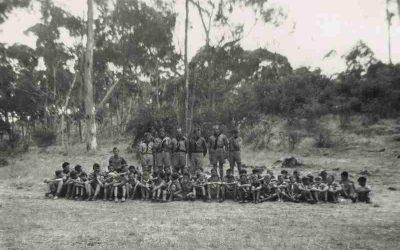 """Дещо з історії пластової площі """"Бескид"""", Аделаїда, Австралія"""