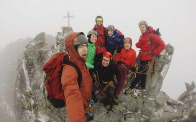 Бунтарки та Бурлаки здійснили сходження на найвищу вершину Карпат – Герлаховський штит
