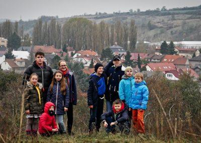 Новацька мандрівка пластунів Чехії