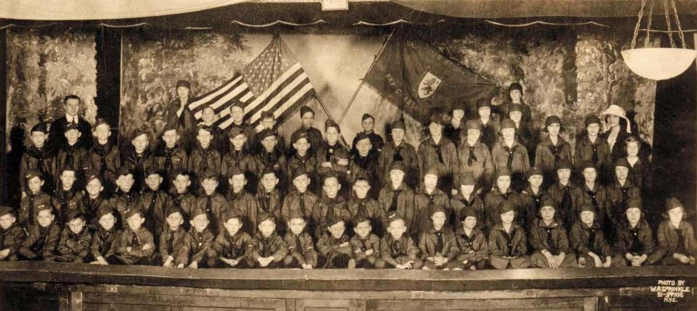 Українські пластуни в Нью Йорку, 1920-ті