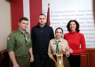 Вифлеємський Вогонь Миру у Латвії