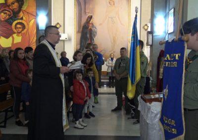 15 грудня 2019 пластуни Іспанії передавали Вифлеємський Вогонь Миру