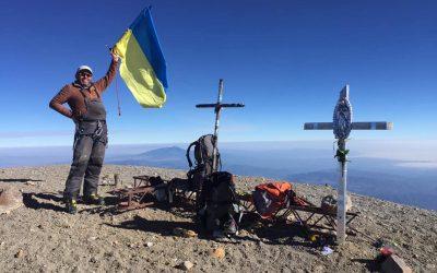 Пластун Ігор Карабін, ВБ, зійшов на найвищу вершину Мексики – вулкан Орісаба