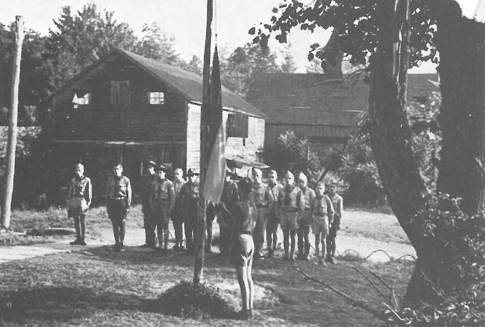 """Юнацький табір """"Мала береза"""", 1951 р., Наррозбург, Ню Йорк"""