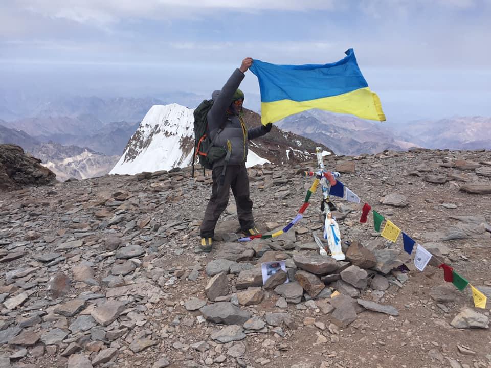 Пластун Ігор Карабін здійснив сходження на Аконкагуа