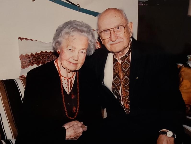 Роман Галькевич з дружиною