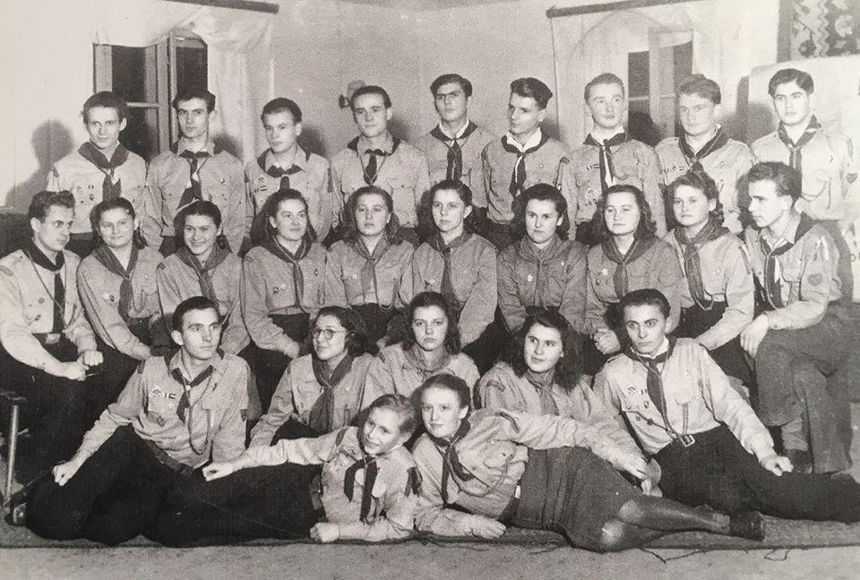 Історія однієї світлини: пластуни в Ландсгут, 1949