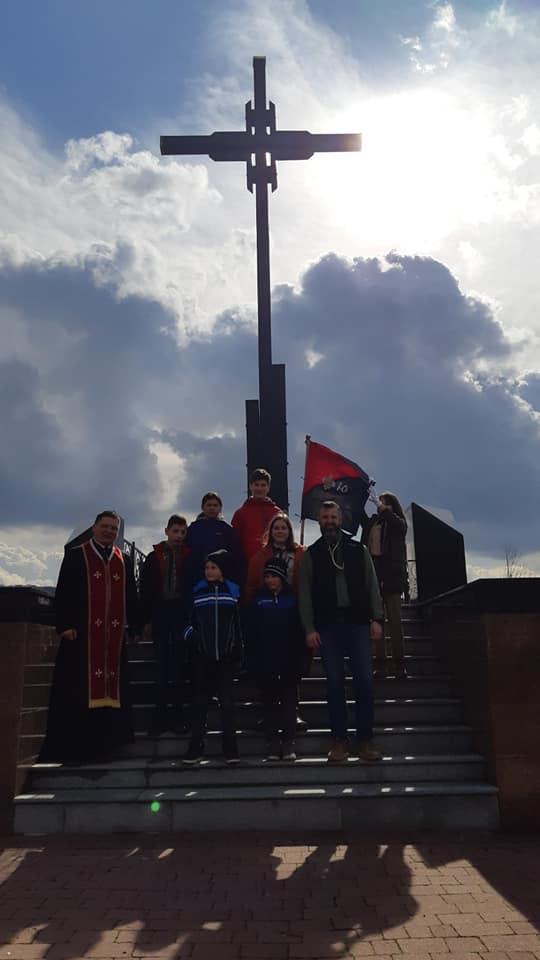 Вшанування пам'яті Олександра Блистіва, патрона підготовчого куреня УПЮ Станиці Мукачево