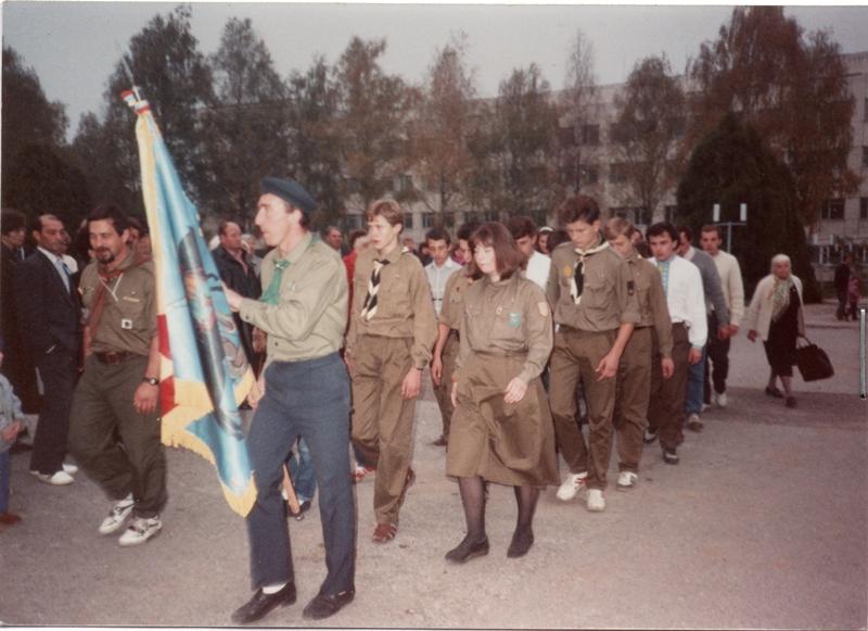 Установчний з'їзд Пласту у Моршині, жовтень 1990