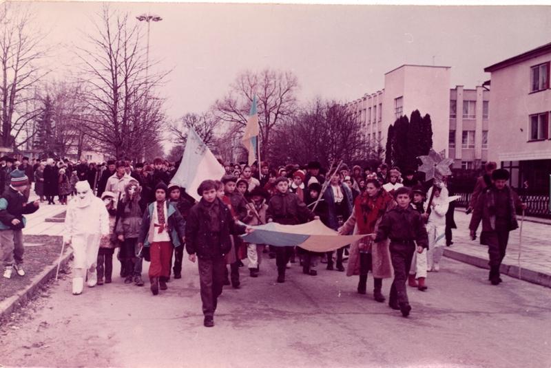 Різдвяні фестини, січень, 1991