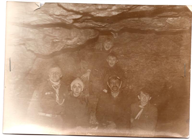 """Печера """"Млинки"""", біля Чорткова, березень 1992"""