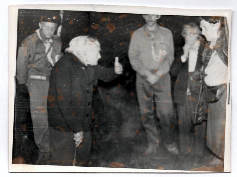 Село Завадів на Стрийщині. Зустріч з Розалією Охримович, травень 1992