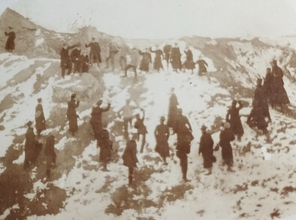 Вправи на Кульпарківських горбах. Зима 1912 р.