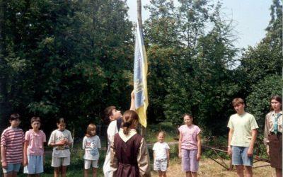 30 років Пласту в Польщі: табір УПН «Прикордонна пригода»