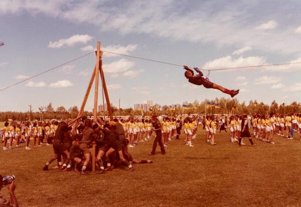 Юнацькі вправи під час ЮМПЗ 1978 Hawrelak Park, Едмонтон