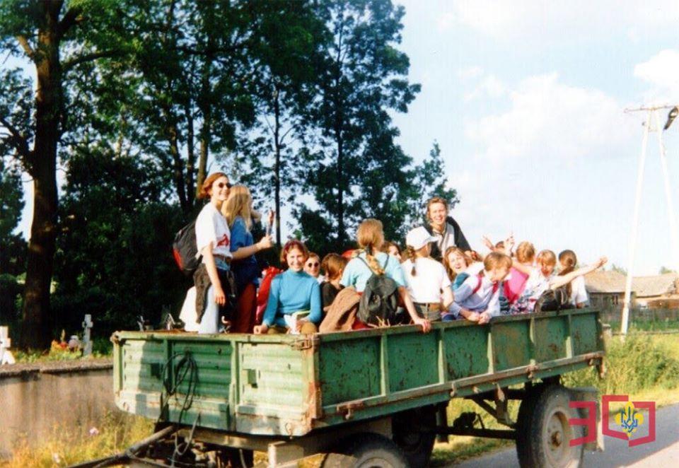 30 років Пласту в Польщі: Крайовий Юнацький Табір «Забуте село»