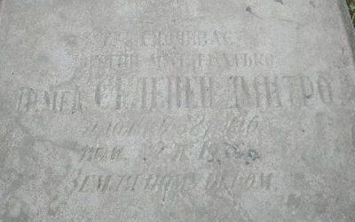 Забута могила засновника Пласту у Надвірній Дмитра Селепея