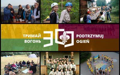 """30-ліття Пласту в Польщі: Табір """"Відродження"""""""