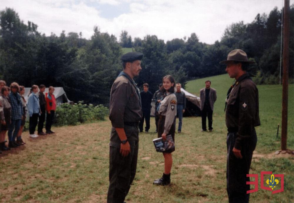 30-ліття Пласту у Польщі: Крайовий Юнацький табір «Тіні Предків»