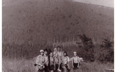 Історія однієї світлини: фото з мандрівки Н. Рожанка – Осмолода, 1990