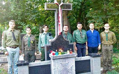 Полум'я Братерства запалав на Байковому кладовищі у Києві