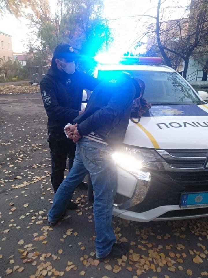 Еліна Даков та Емілія Павлишин затримали грабіжника
