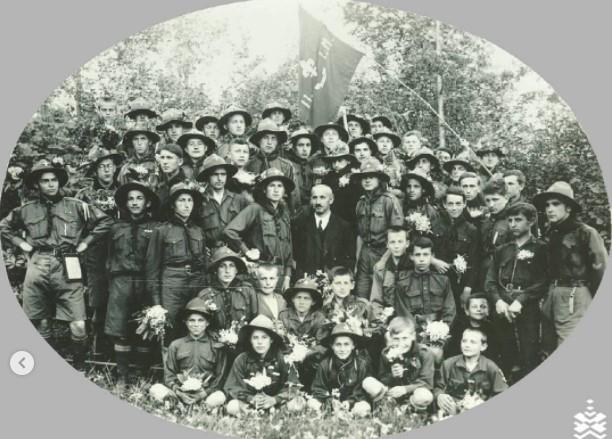 Курінь ім. І. Мазепи, фото - із фонду ІФКМ